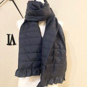 Aero Navy Blue down scarf
